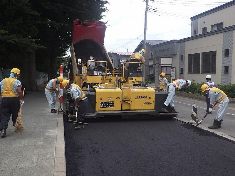 舗装工事2