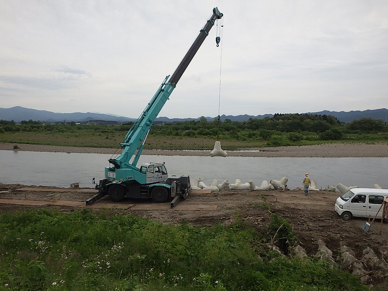 河川維持工事1